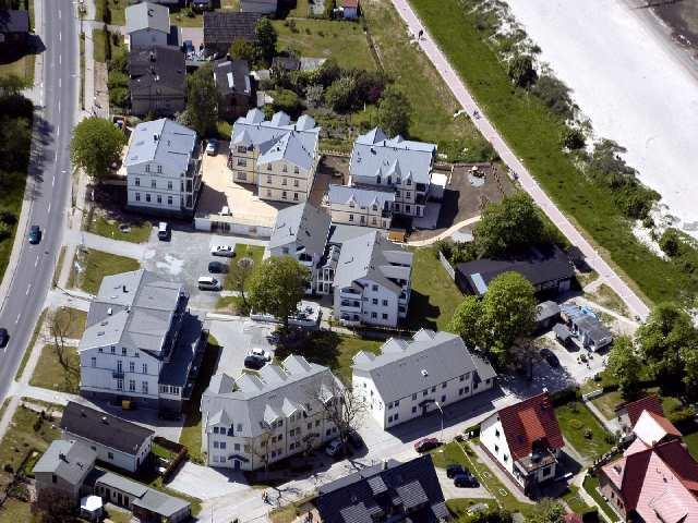 Alt Glowe - Urlaubssiedlung - Ferienhaus &#34Villa Bolte&#34 von Ost nach West